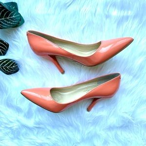 3/$30 Marc Fisher Pointed Toe High Heels Salmon 6